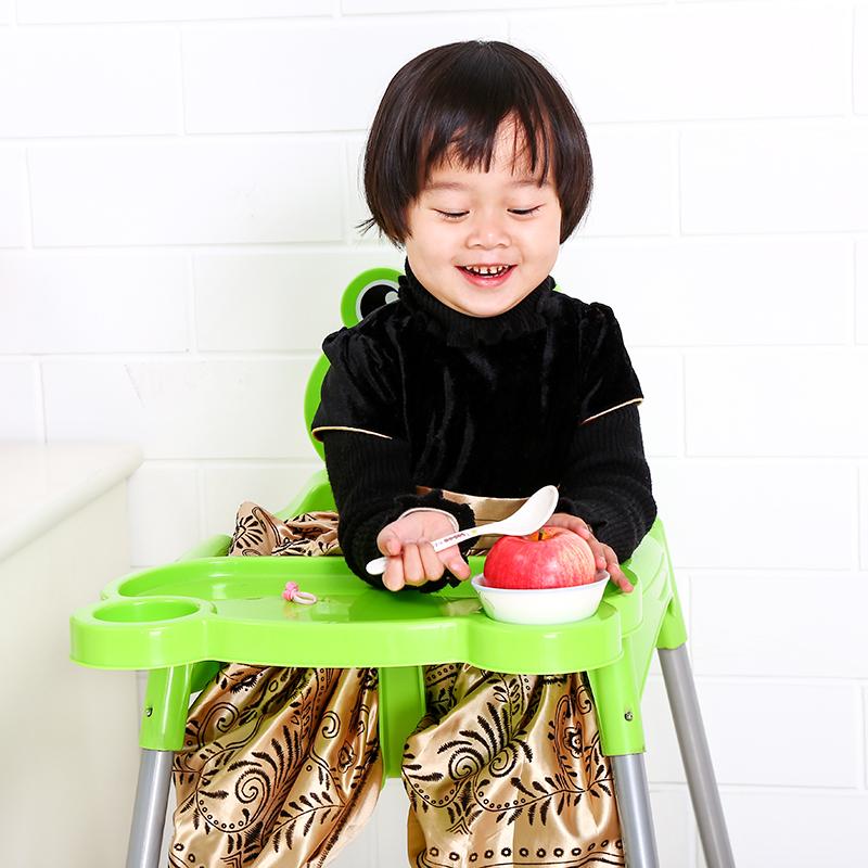婴儿儿童餐椅宝宝餐桌椅便携式婴幼儿座椅BB吃饭餐椅塑料加厚