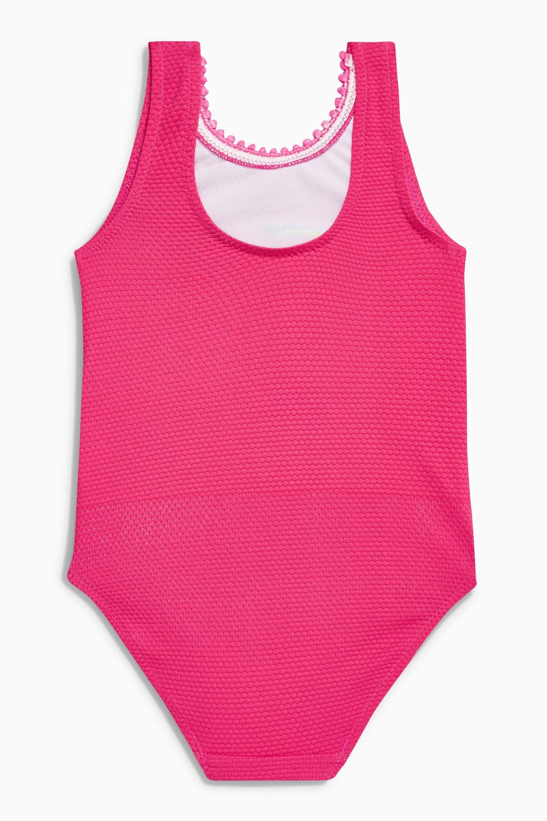 现货英国NEXT女童女宝鹦鹉速干高弹力连体泳衣裤