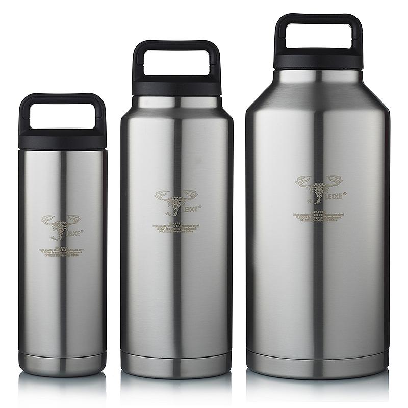 軍內外304不鏽鋼戶外用運動水壺登山騎行水杯保冷保溫大容量雙層