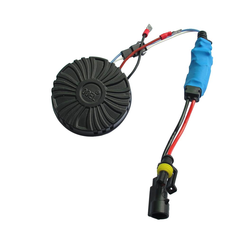 4S指定汽车专用一体化圆形HID氙气灯泡汽车改装大灯安定器镇流器