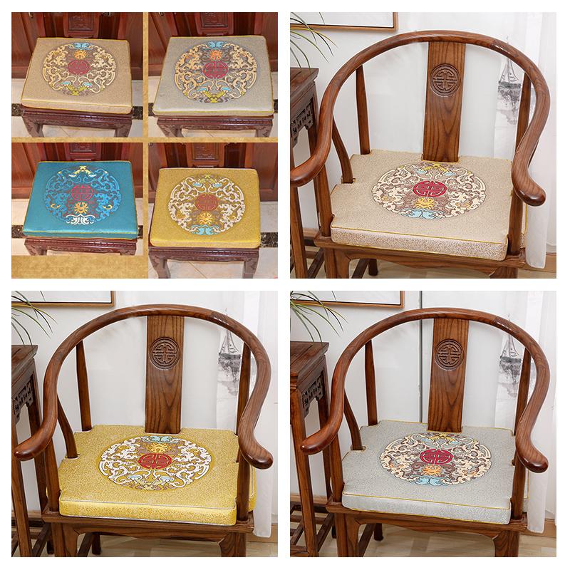 [淘寶網] 圈椅坐墊椅子墊子坐墊紅木椅子坐墊實木沙發墊紅木沙發坐墊中式