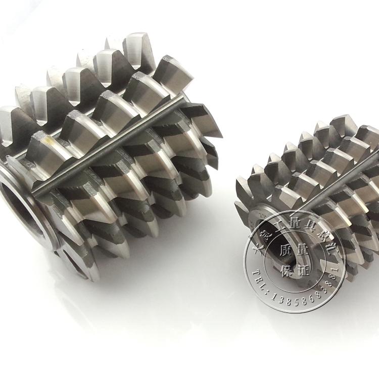 哈尔滨北大工具厂高质量6542高速钢齿轮滚刀压力角20°AM1-M12