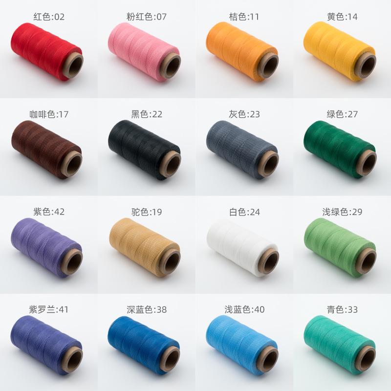 材料 diy 绳结 macrame 手工编织包石头用线 emy 色新品 45 扁蜡线 0.8mm