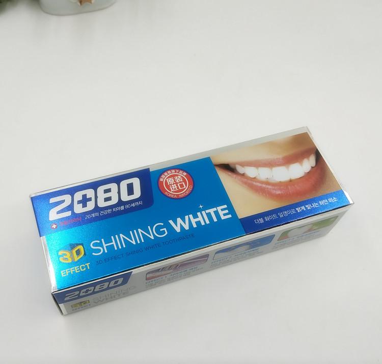 [淘寶網] 清倉!韓國原裝進口 2080 3D牙膏美白去牙漬 100g