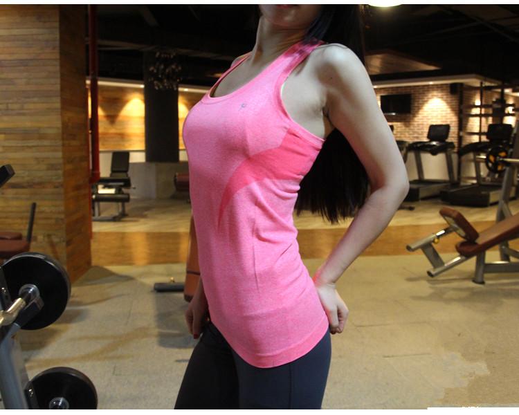 廠清款!老客要入!女式無縫高彈吸濕速乾運動背心健身瑜伽上衣