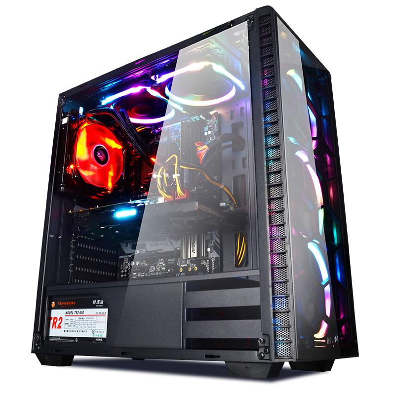 宁美国度i7 8700/RTX2070升SUPER高端游戏吃鸡电脑主机组装台式机电竞直播高配DIY电脑兼容机整机全套