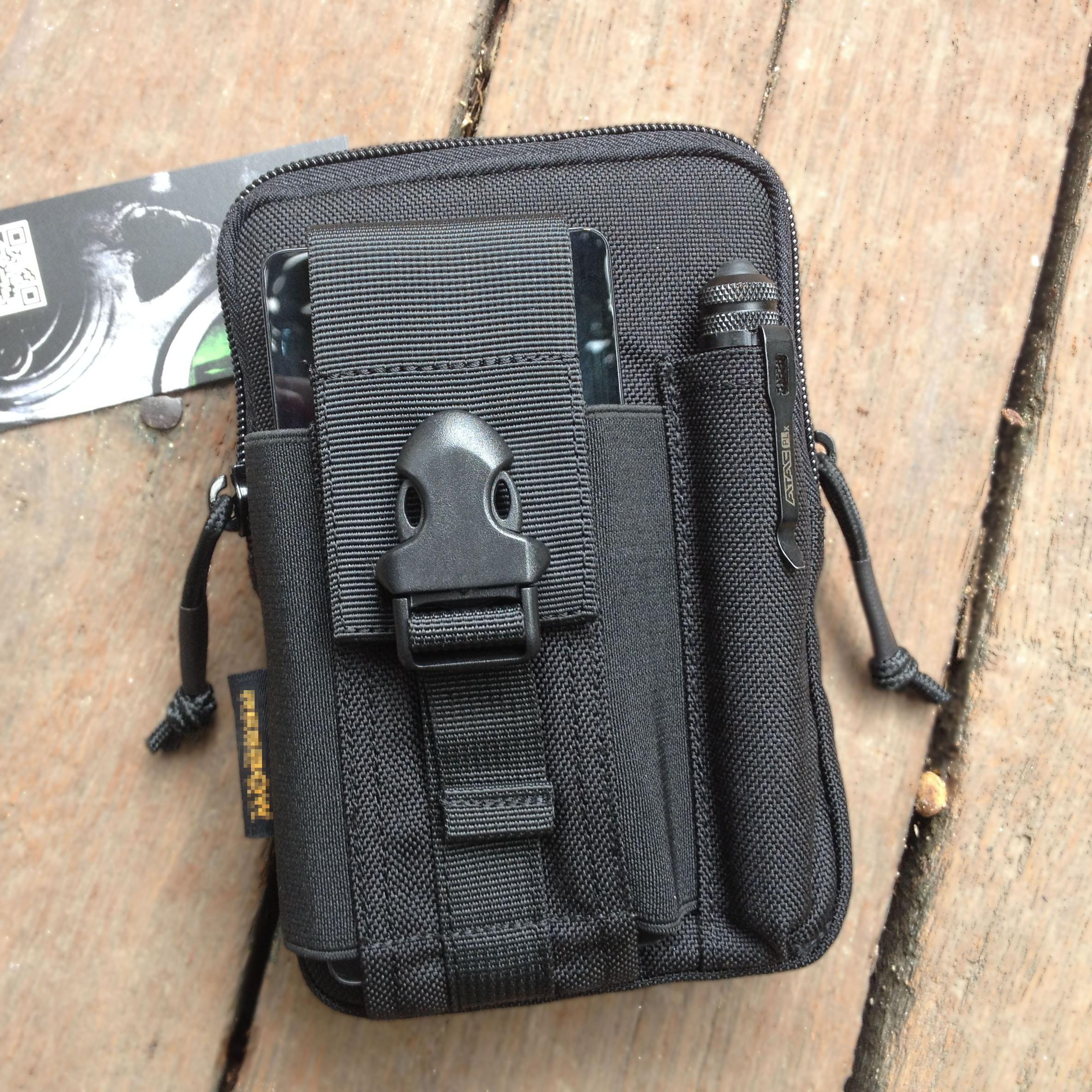 D30戰術腰包升級 運動腰包戰術手機包 可裝5.5寸手機iphon6 plus