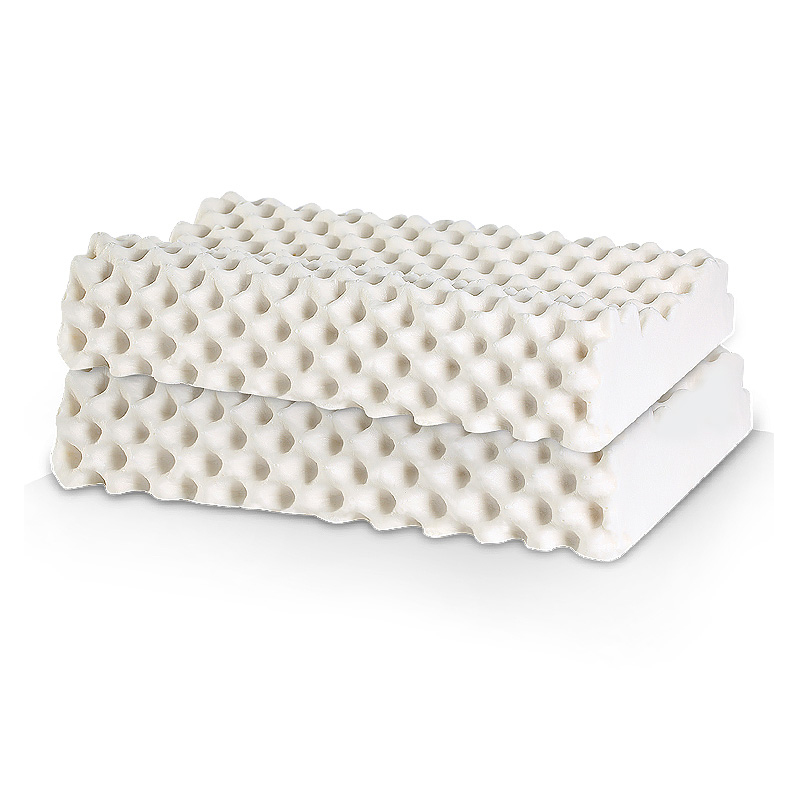 睡眠博士泰国天然乳胶枕头护颈枕芯防失眠打呼噜枕双人颈椎枕一对