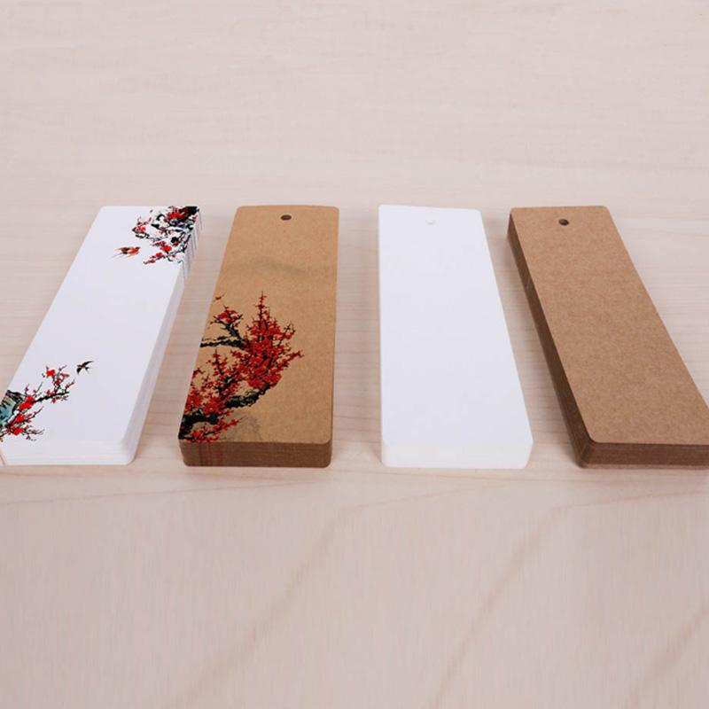 书签纸空白卡古风DIY材料包流苏手绘古典中国风创意小清新学生用1