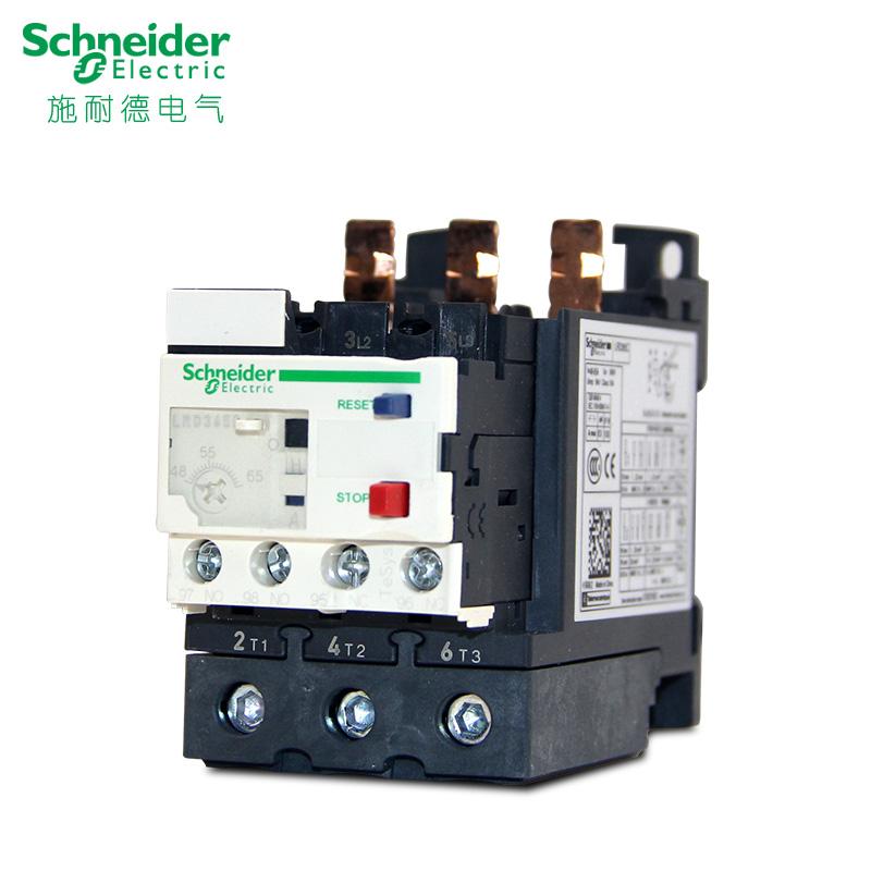 施耐德 TesysD系列 Everlink热过载继电器 LRD365C