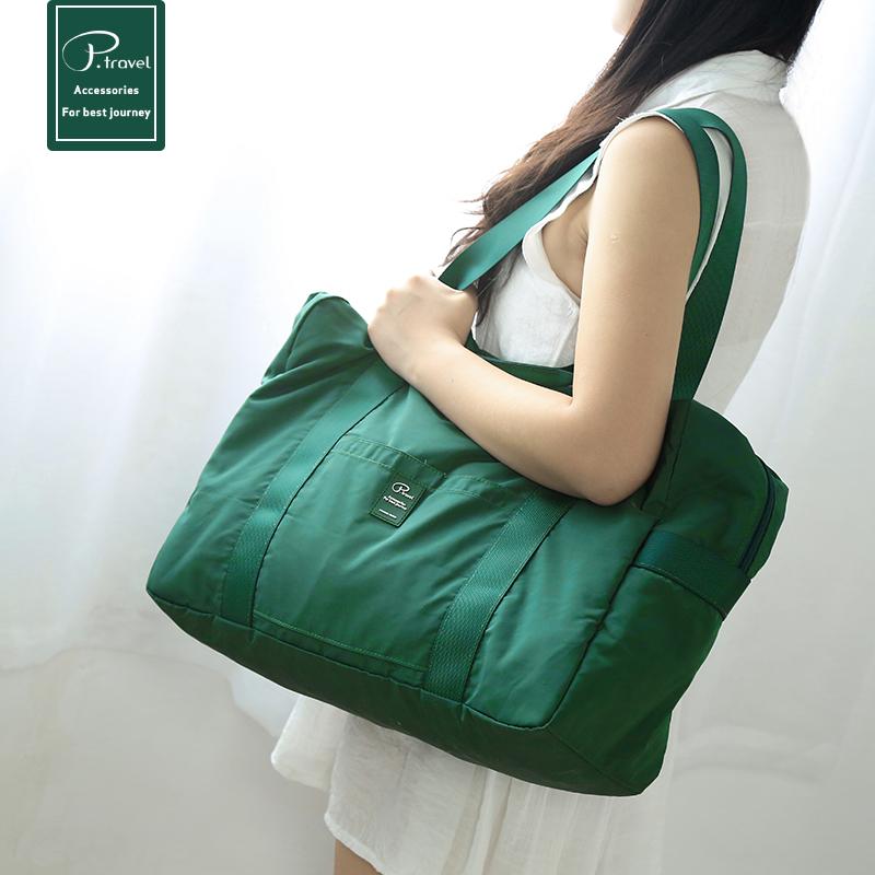 行李包男手提袋大容量轻便韩版短途旅行袋旅游包潮健身包旅行包女