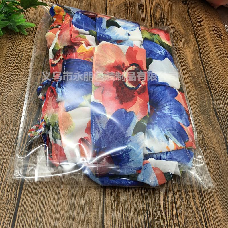 促销加厚9丝24 34透明塑料衣服装裤A4纸opp自粘包装袋子批发定制