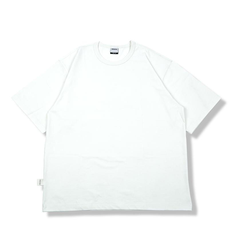 恤男无信仰 T 恤白色宽松百搭打底 T 圆领纯棉短袖 300g 重磅 NORELIGION