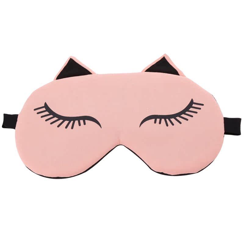 韩国遮光睡眠护眼罩冰袋卡通可爱透气女睡觉午睡冰敷热敷送耳塞