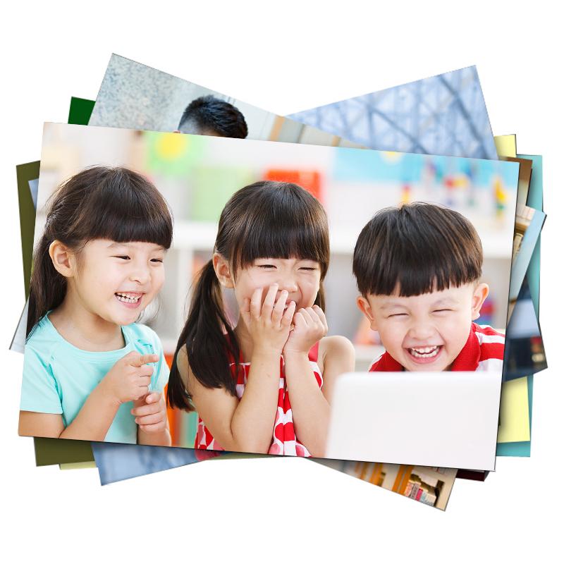 洗照片包邮 5/6/7寸照片冲印打印冲洗相片证件照手机晒塑封送相册
