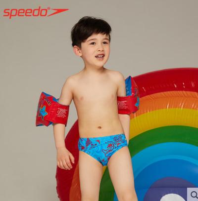 speedo速比濤兒童臂圈男女童水袖游泳充氣臂環初學游泳圈