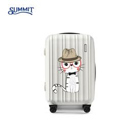 莎米特行李箱女20寸登机箱密码箱22寸旅行箱子28寸拉杆箱万向轮24