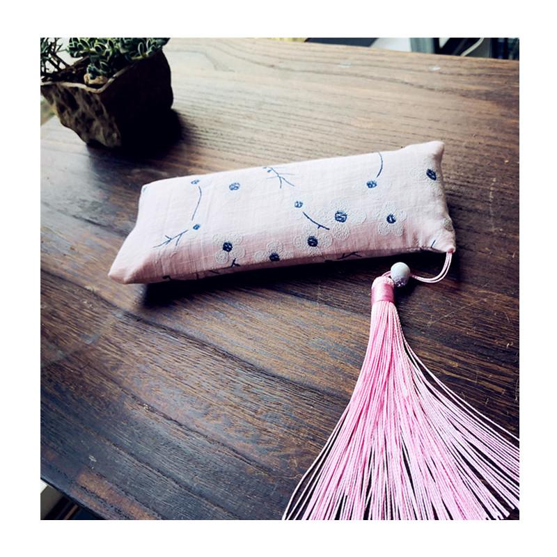 年新品手工艺鼠标手枕垫贴香包甜美文艺决明子键盘托护腕枕垫 2019