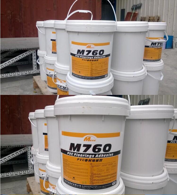 粘合剂 720m919 亚麻地板运动地胶 770 卷材地板胶水 PVC M760 美圣雅恒