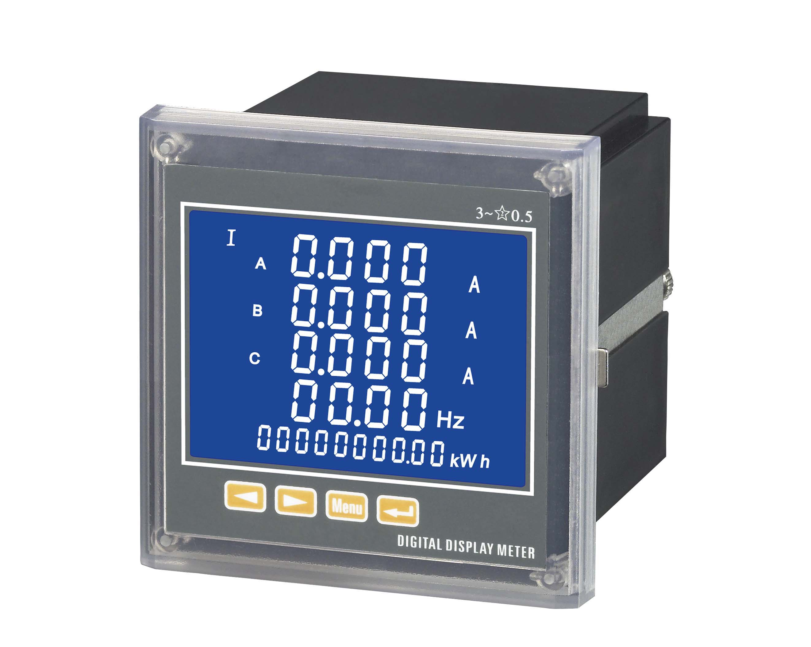 三相电流电压电能液晶多功能电力仪表数显功率频率因数485通讯表