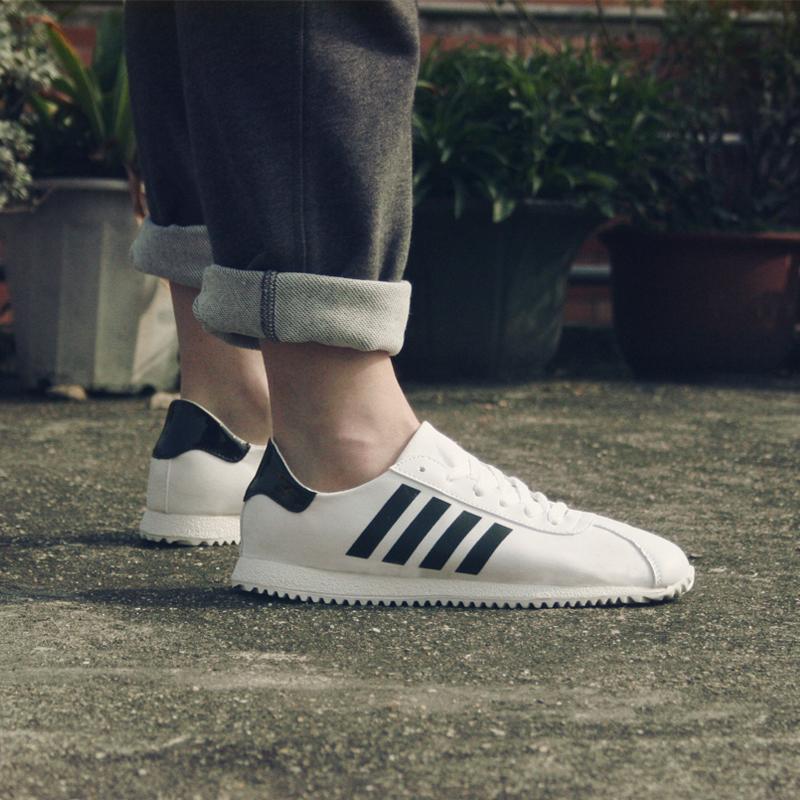 新款2017夏季白色帆布鞋男鞋低帮休闲学生布鞋阿甘鞋韩版潮流鞋子