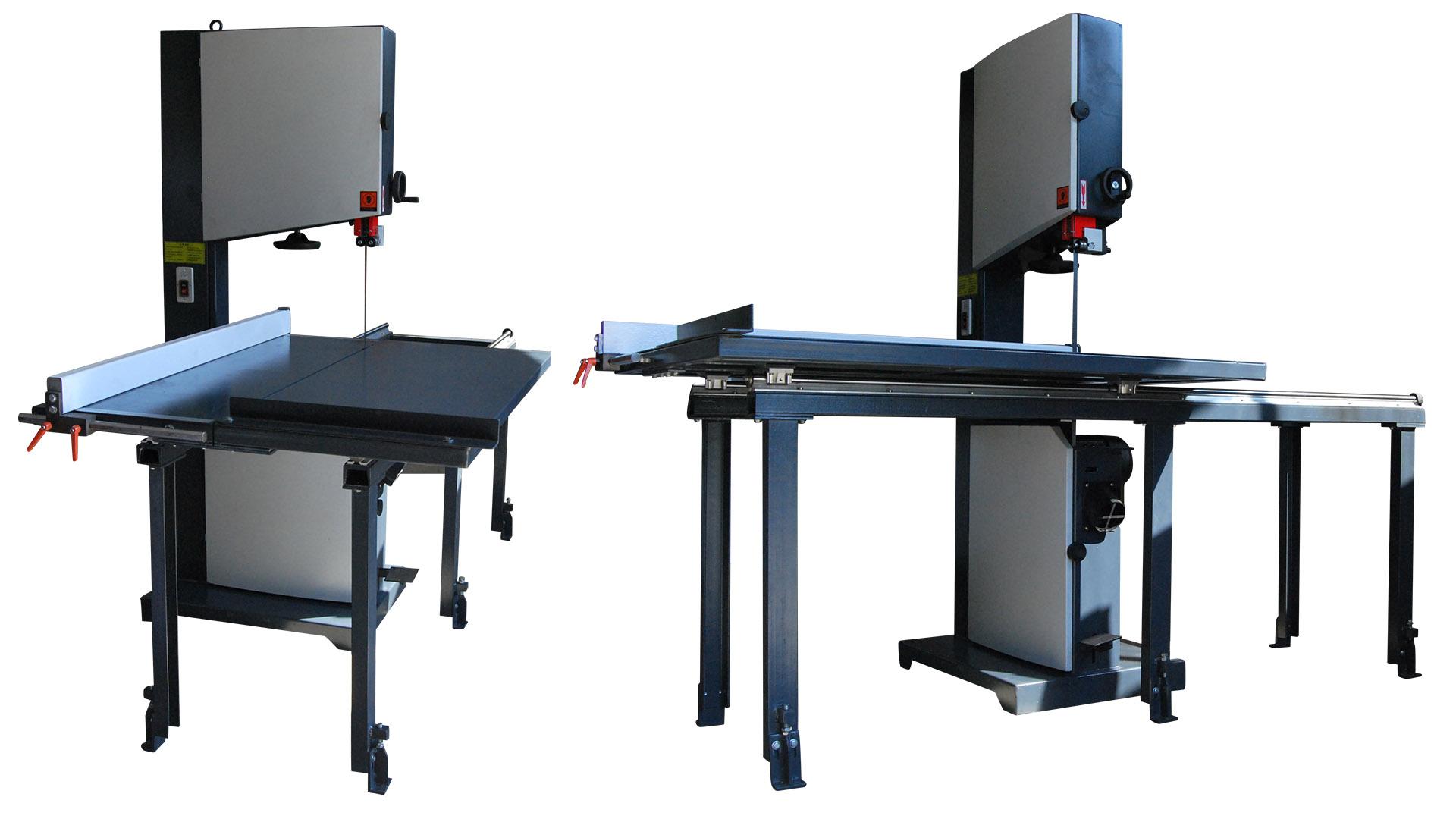 厂家直销重型推台式木工带锯机/开料锯