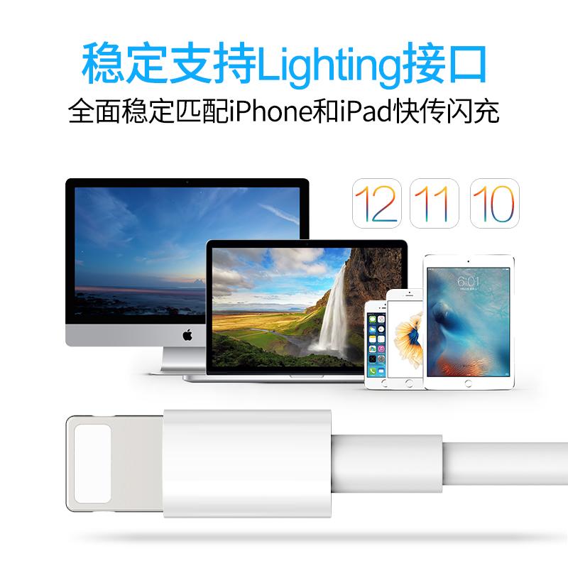 Max XS 古尚古 ipad 平板電腦適用 P 沖電 iphonex 短 8X 單頭 se 快充 5 加長 7Plus 手機 5s 充電線器 6s 數據線蘋果 iPhone6