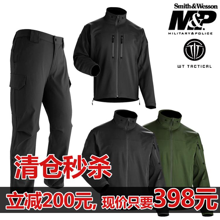 美國Wild Things M&P高階軟殼衝鋒衣防風防水外套男士戶外戰術服
