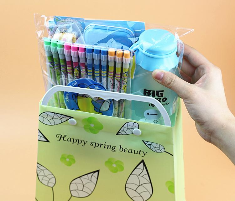 六一儿童节文具套装礼物学生学习用品礼品生日礼包环保袋礼盒批发