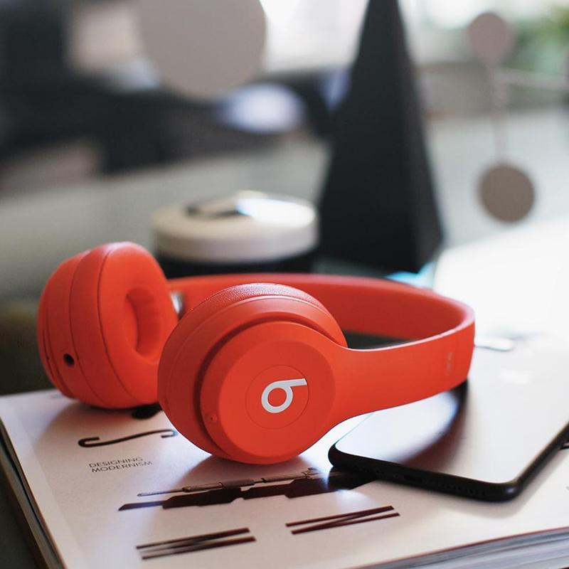⭐Beats Solo3 Wireless头戴式耳机无线蓝牙b魔音苹果降噪耳麦
