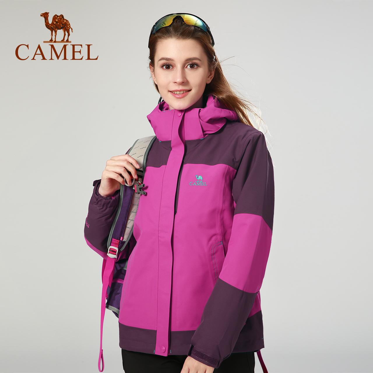 【喜馬拉雅系列】駱駝衝鋒衣三合一兩件套攀登雪山防風防水登山服