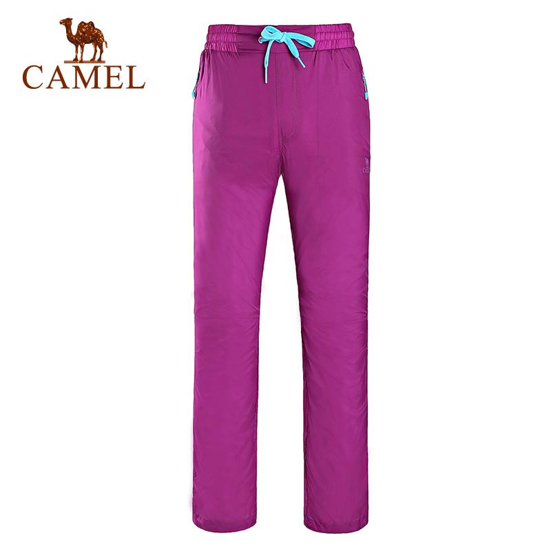 CAMEL駱駝戶外男款面板長褲  男士透氣舒適休閒速幹褲易幹褲夏季