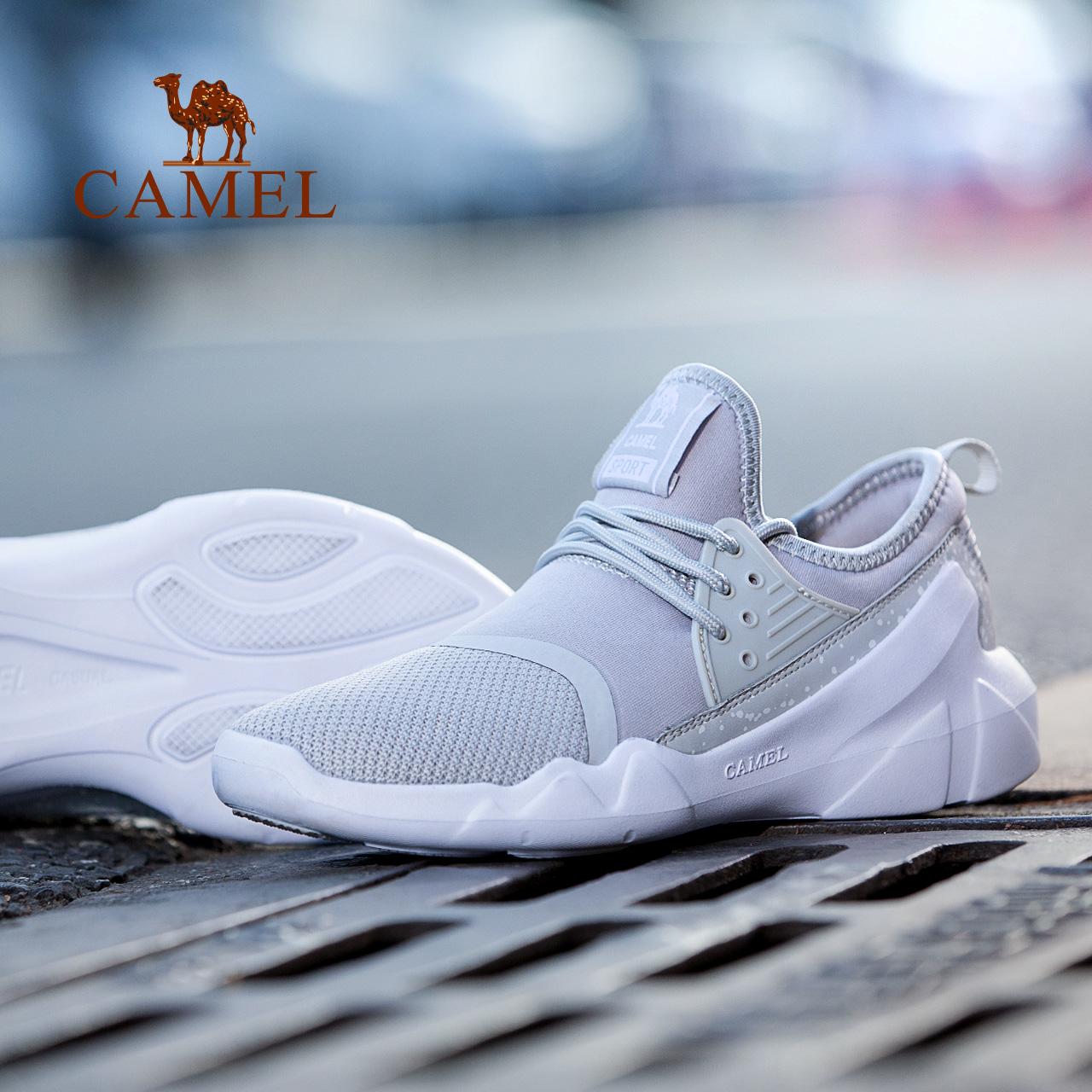 骆驼运动鞋女 2018夏新款时尚休闲潮流运动鞋子 轻便透气减震跑鞋