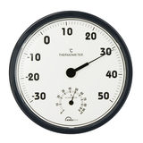 Ming Gao TH306 Bimetal Thermo-hygrometer Home Workshop Office Warehouse Large Dial 30CM