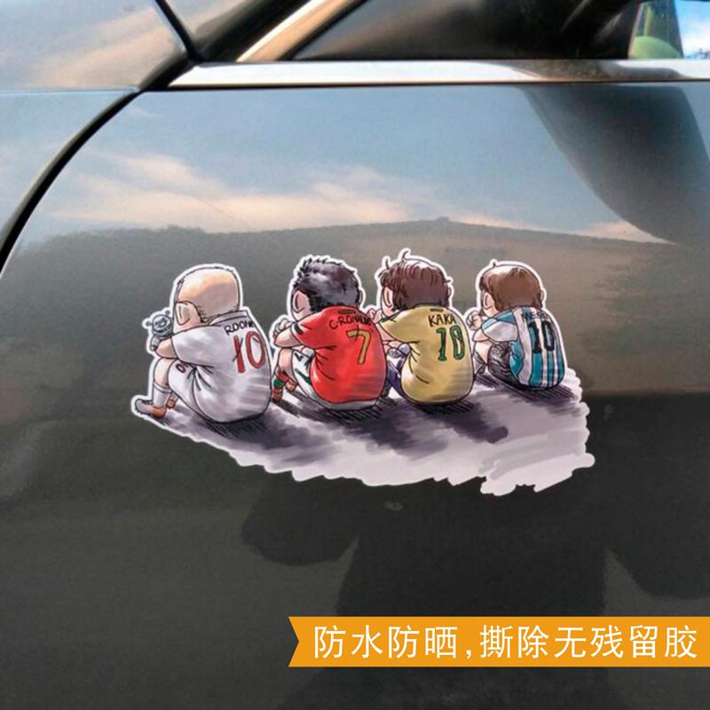 立体贴纸防水刮痕潮 3d 汽车车贴个姓创意划痕装饰遮挡车遮盖车身贴