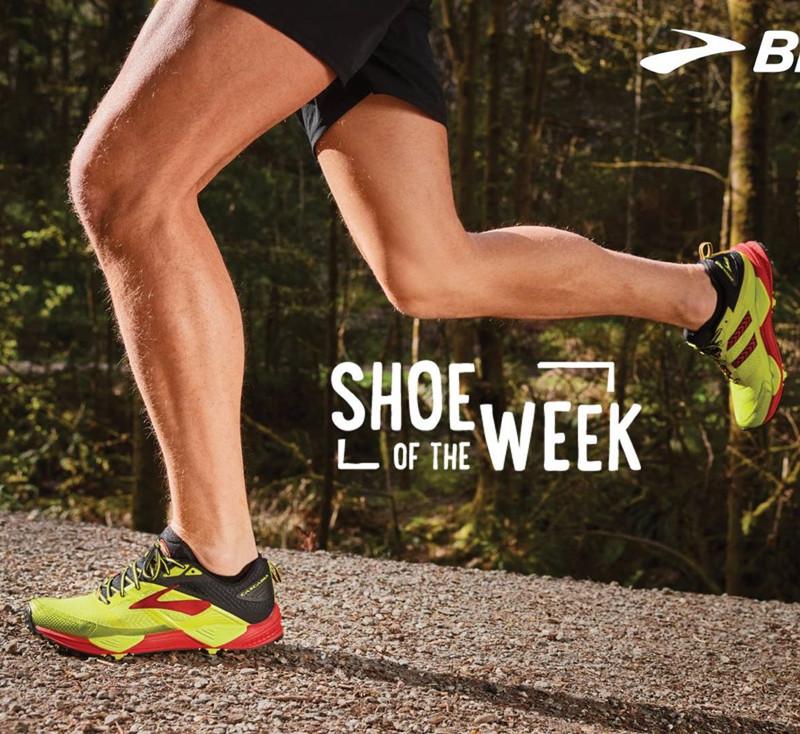 美國Brooks 布魯克斯CASCADIA12 GTX男 越野百公里 馬拉松跑步鞋