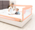 Baby and child drop-proof bed guardrail without column, foldable vertical lift big bed fence, baby drop-proof bedside baffle