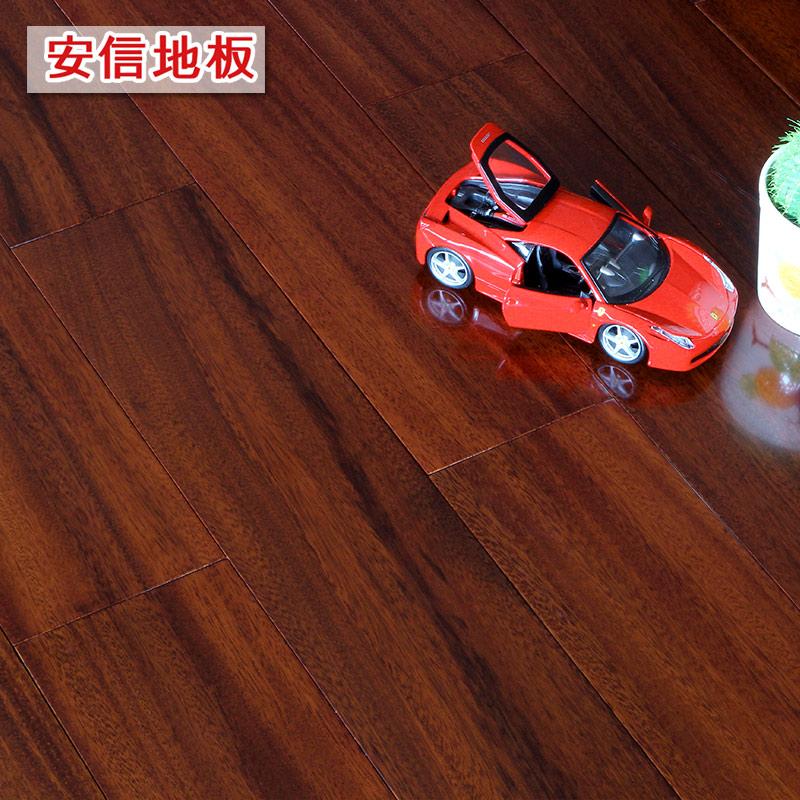 安信 圆盘豆(绿柄桑)纯正全实木地板原木 厂家直销