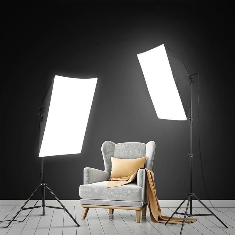 Lightdow Photo Studio Soft Box Equipment Set Product Photo Photography Light Box Set 2pcs
