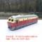 东风合金仿真火车头 内燃机车带声光合金火车模型 儿童回力玩具车