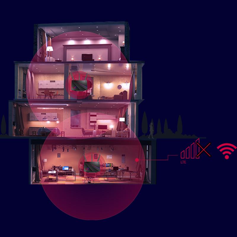 box x switch PS4 加速 uu 网易 5g 穿墙高速 wifi 千兆路由器家用 AC2900M 游戏路由器光纤双频无线 AC2900 GT 华硕