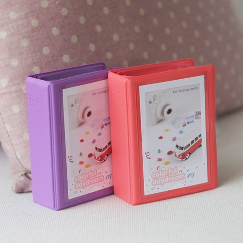 包郵拍立得mini照片相簿標準3寸火車票電影票名片卡片收納冊收藏