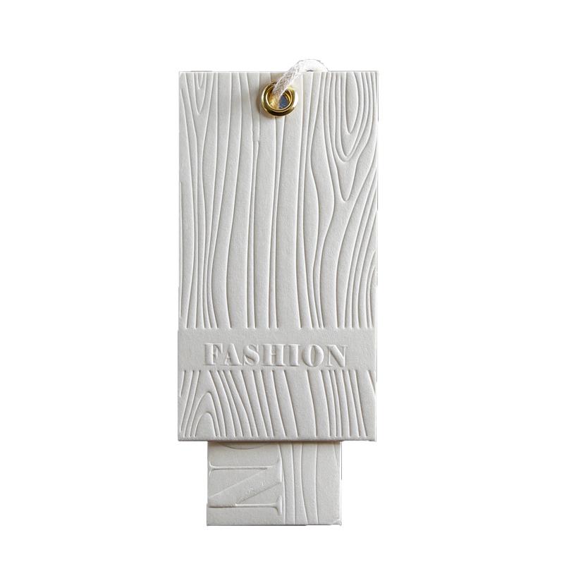 男女装衣服吊牌定做特种纸莱尼纹服装店挂牌商标logo设计定制订做