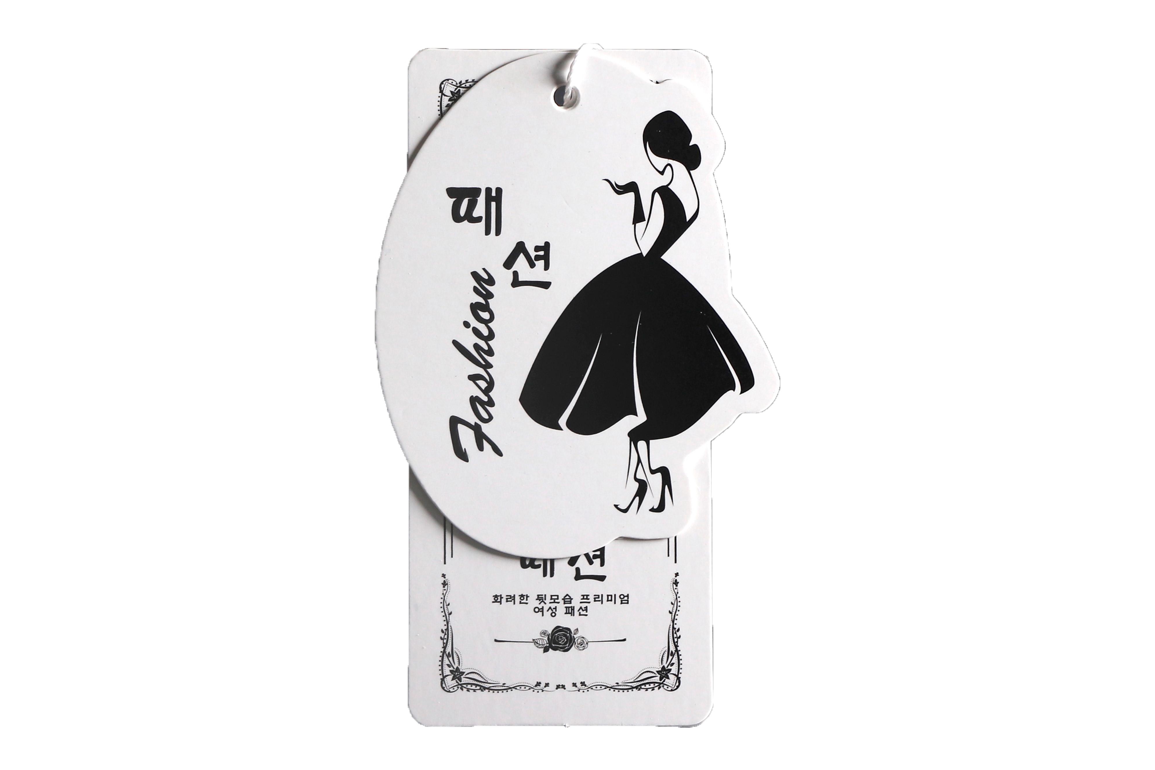 现货吊牌定做服装吊牌订做衣服标签挂牌定制logo女装吊牌卡片设计