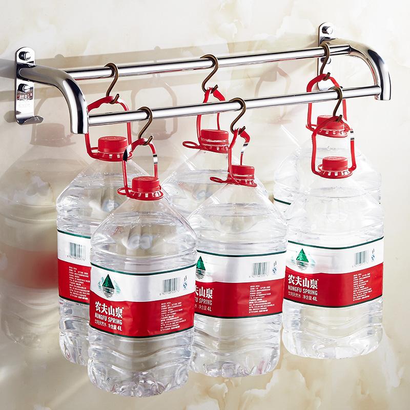 不锈钢毛巾架单杆毛巾杆挂架毛巾挂卫生间挂杆卫浴挂件 304 浴室