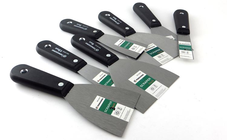 促销油灰刀铲刀加厚腻子刀抹批刀小刮泥板油漆工塑胶把填缝小铲刀