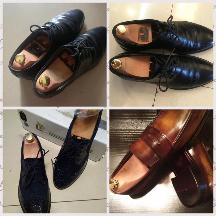 壹小实木荷木鞋撑子鞋栓鞋楦扩鞋器 可调节 皮鞋子定型防皱防变形