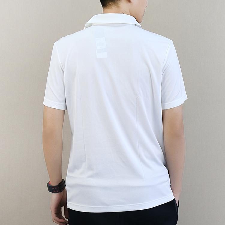 阿迪达斯男装2019夏季polo衫半袖立领短袖休闲透气运动T恤CV8321