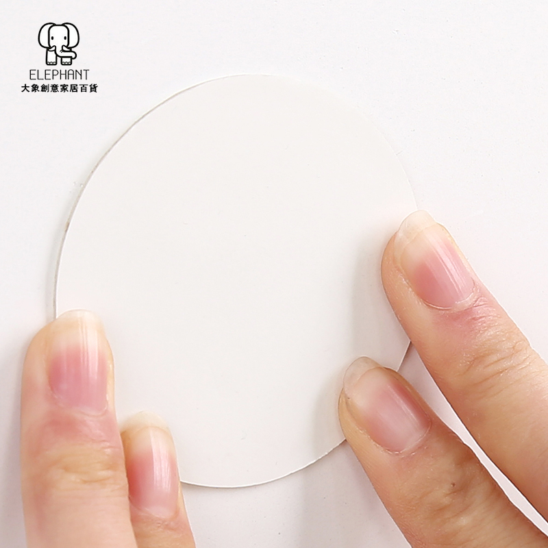 吸盘挂钩辅助贴魔力贴磨砂纹理墙面瓷砖强力补助贴墙面无痕贴片