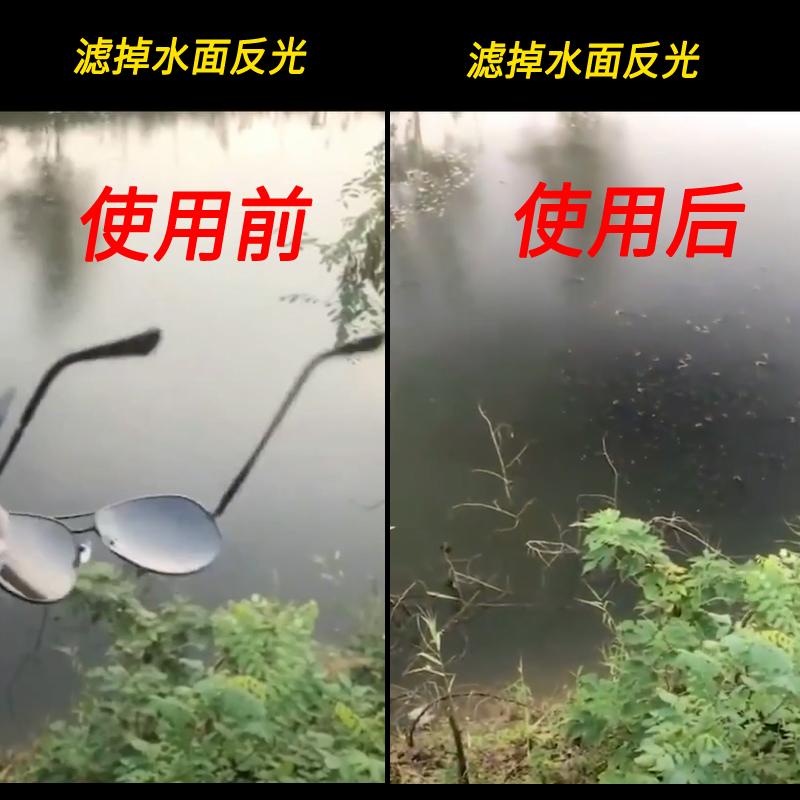 钓鱼看漂射鱼看水底眼镜专用眼睛开车高清